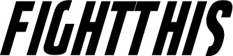 Preview image for FightThis Font