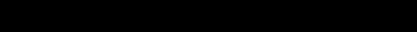 Warp Thruster Engraved Italic