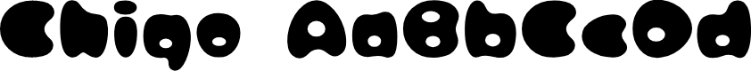 Preview image for ICHIGORegular Font