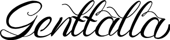 Preview image for Genttalla Font