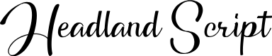 Preview image for Headland Script Font