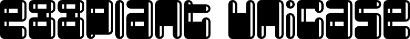 Preview image for Eggplant Unicase Regular Font