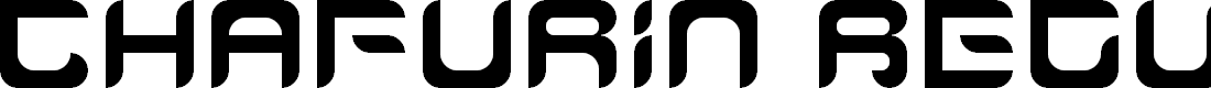 Preview image for Chafurin Regular Font