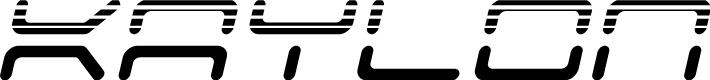Preview image for Kaylon Halftone Italic