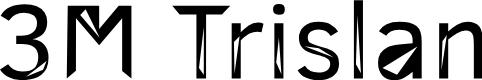 Preview image for 3M Trislan Font