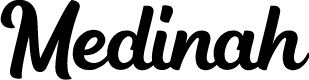 Preview image for Medinah Font