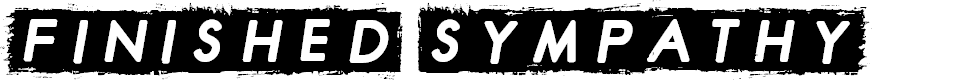 Preview image for Finished Sympathy Font