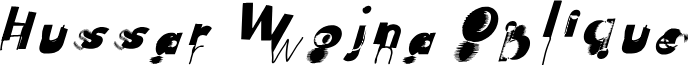 Hussar Wojna Oblique