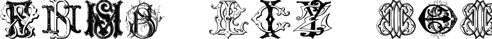 Preview image for Sughayer Initials_03 Font