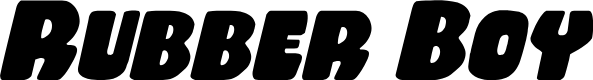 Preview image for Rubber Boy Italic