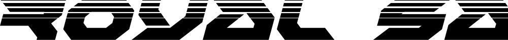 Preview image for Royal Samurai Halftone Italic