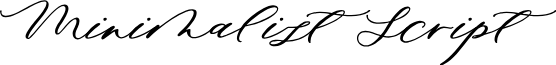 Minimalist Script