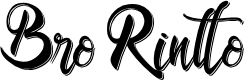 Preview image for Bro Rintto Font