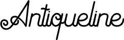 Preview image for Antiqueline FreeVersion Font