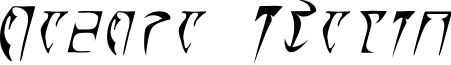 Daedra Italic