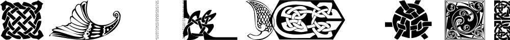 Preview image for 101! Celtic DeZignZ Font