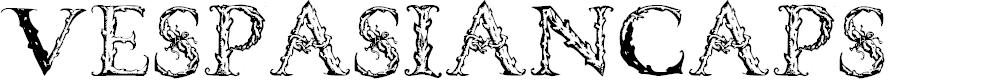Preview image for VespasianCaps Font