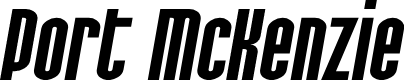 Preview image for SF Port McKenzie Extended Italic