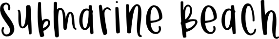 Preview image for Submarine Beach Font