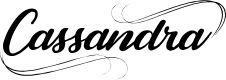 Preview image for Cassandra Personal Use Regular Font