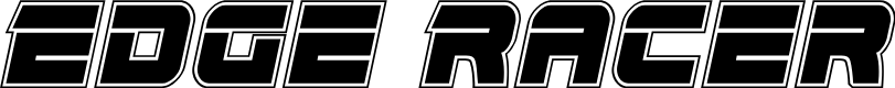 Preview image for Edge Racer Academy Italic
