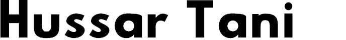Preview image for Hussar Tani Font