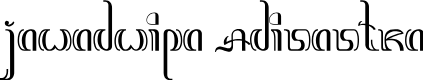 Preview image for JawadwipaAdisastra Font