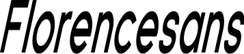 Preview image for Florencesans Comp Bold Italic