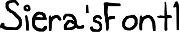 Siera'sFont1