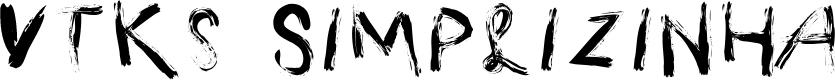 Preview image for Vtks Simplizinha Font
