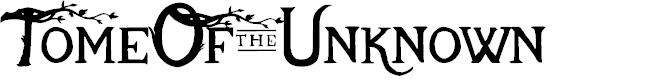 Preview image for TomeOfTheUnknown Font