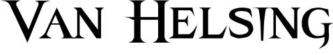 Preview image for Van Helsing Font