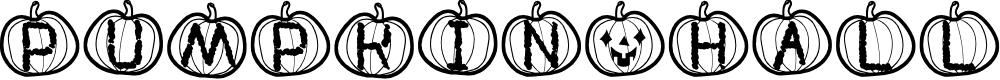 Preview image for Pumpkin Halloween St Font