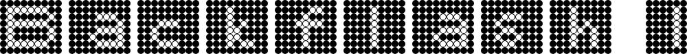 Preview image for Backflash Inverted Regular Font