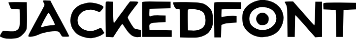 Preview image for Jacked_Font