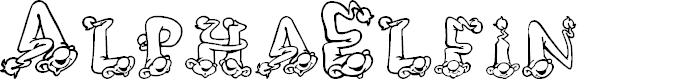Preview image for AlphaElfin Font