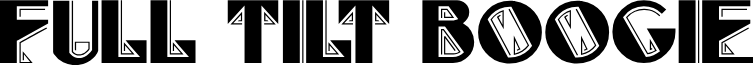 FullTiltBoogie font