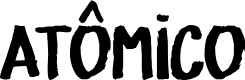 Preview image for ATÔMICO Font