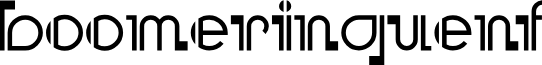 BooMeringueNF font