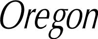 Preview image for Oregon LDO Condensed Oblique