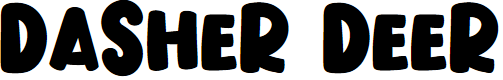 Preview image for Dasher Deer Font