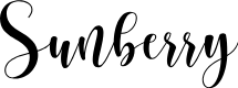 Preview image for Sunberry Font