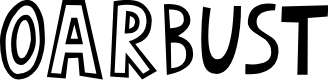 Preview image for oArbust Font