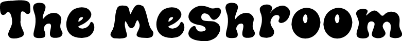 Preview image for The Meshroom Font