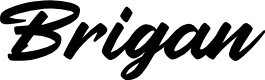 Preview image for Brigan Font
