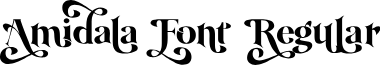 Amidala Font Regular