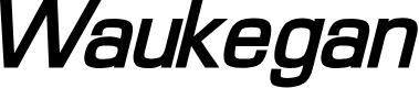 Preview image for Waukegan LDO Bold Oblique