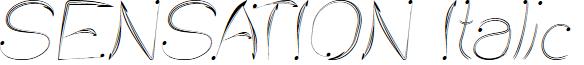 SENSATION Italic