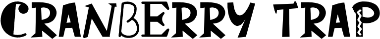 Preview image for Cranberry Trap Font