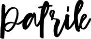 Preview image for Patrik Font